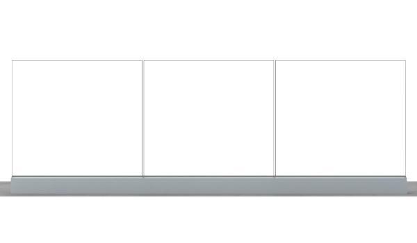 Garde-Corps vitré Modèle Horizon